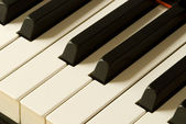 Keys of a piano — 图库照片