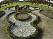 施韦青根的巴洛克式花园 — 图库照片