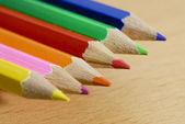 Coloured Pencils — Foto de Stock