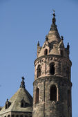 The dome of Worms, Germany. Tower — Stock Photo