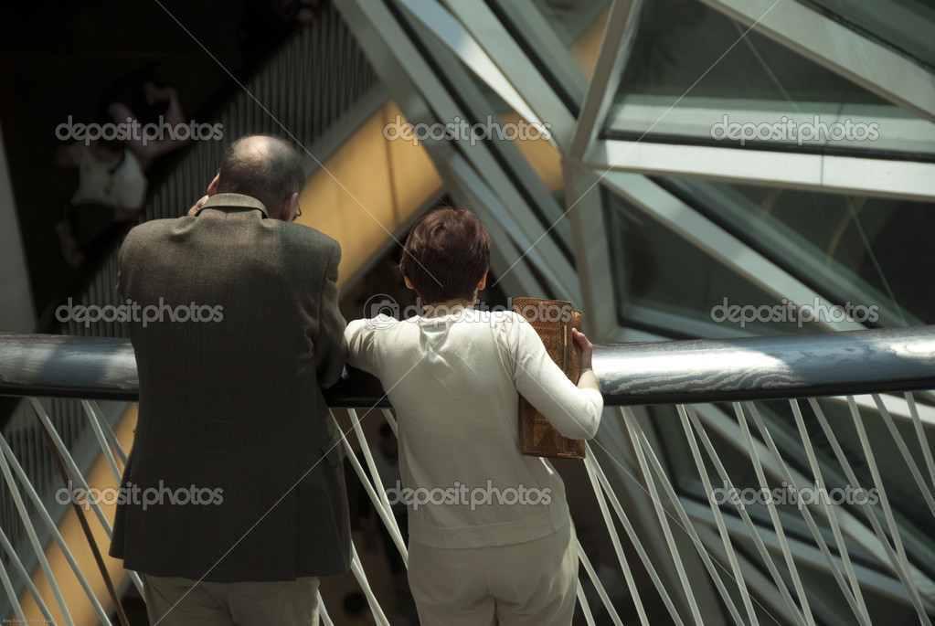 The new shopping center myZeil in Frankfurt am Main, Germany — Stock Photo #3635996