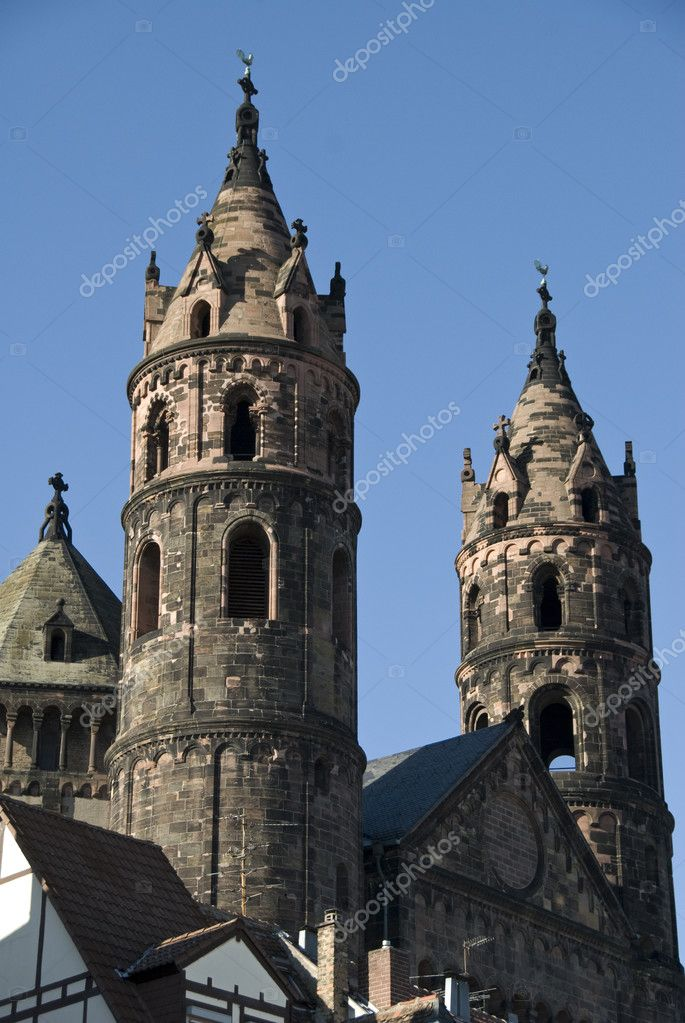 The famous dome of Worms, Germany — Stock Photo #3638510