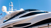 Luxury yacht — Foto Stock