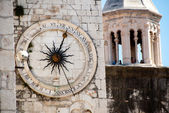 Clock Tower of Split, Croatia — Stock Photo