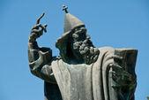 Statue of Gregorius of Nin, — Stock Photo