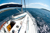 Yachting — Stockfoto