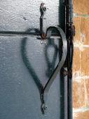Detail of venetian door — Stock Photo