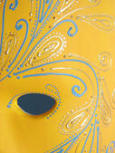 Beautiful painted venetian mask — Stock Photo