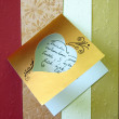 Beautiful romantic greeting card — ストック写真 #2898289