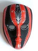 Vackra målade venetiansk mask — Stockfoto