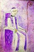 Obispo ilustrado — Foto de Stock