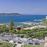 Panoramic view of Kerkyra — Stock Photo
