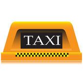 Lantern taxi.Vecktor — Stock Vector