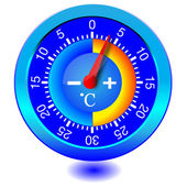 Vector thermometer — Stock Vector