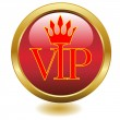 Stock Vector: VIP icon gold.Vector