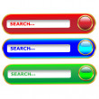 Website Elements search.Vector — Stock Vector