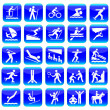 Stock Vector: Web icon sport set.Vector