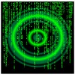 Matrix background.Vector - Image vectorielle