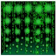Matrix background.Vector — Stockvektor
