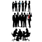 Business .Vector — Stock Vector