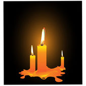 Candles.Vector — Vettoriale Stock