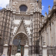 Kathedrale in Sevilla - Stock Photo
