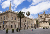 Kathedrale in Sevilla — Stock Photo