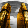Golden reflection - Stock Photo