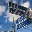 Signposts/guides — Foto Stock