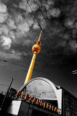 Fernsehturm in Berlin — Stock Photo