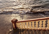 Stairway to the sea — Stock Photo