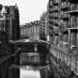 Stock Photo: Speicherstadt