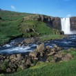 Iceland waterfall — Photo