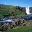 Foto Stock: Iceland waterfall