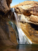 Lower Calf Creek Falls — Stock Photo
