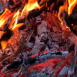 Fire in fireplace — Stock Photo #2768902