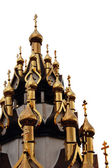 Domes of christian church — Stock Photo