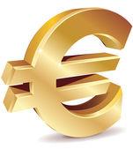 Euro Symbol — Stock Vector