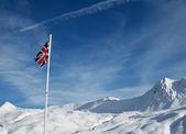 English vlag — Stock Photo