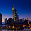 Royalty-Free Stock Photo: Frankfurt at night
