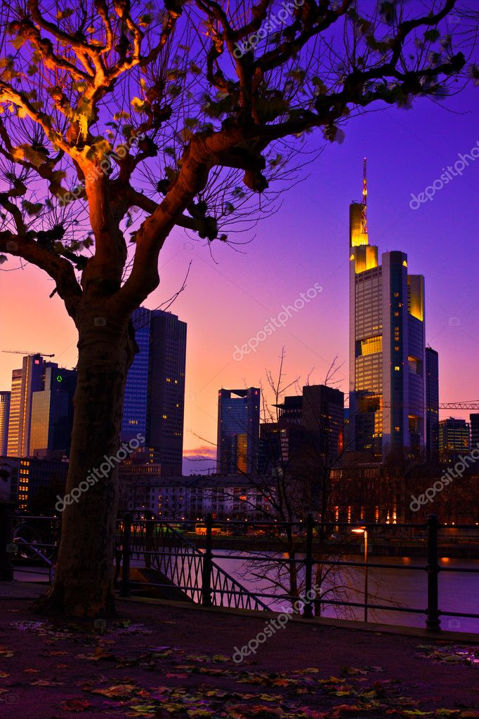 Frankfurt on the main, Rhine-Main Metropolitan Region — Stock Photo #2831818