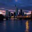 Frankfurt on the main — Stock Photo