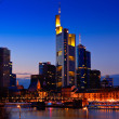 Frankfurt on the main - Stock Photo