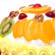 Stock Photo: Fruit cake