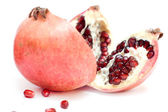 Pomegranate isolated — Stock Photo