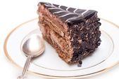 Chocolate bolo — Fotografia Stock