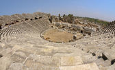 The ruins of the ancient amphitheater. Turkey, Side — Stock Photo