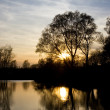 Stock Photo: River Sunset 2