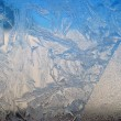 patterns on glass — Stock Photo