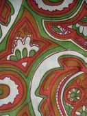 Antique textile — Stock Photo